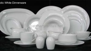 Arctic White Dinnerware